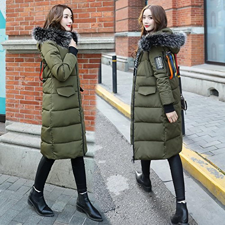 Xuanku Jacke Mantel Mädchen Im Winter Lange Weibliche Baumwolle Mantel Nagymaros Kragen Cap Winter Kleidung Für Größere Robel,schwarz B075F4Y6N4  Britisches Temperament