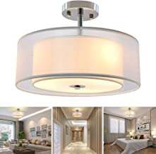 Best bedroom semi flush ceiling lights Reviews