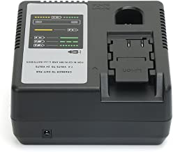 REEXBON Battery Charger For Panasonic 7.2V to 24V Ni-CD, Ni-MH & Li-ion batteries EY9065 EY9086 EY9200 EY9136 EY9L60