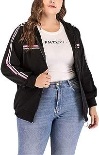 Goddessvan 2019 Women Plus Size Zipper Coat Long Sleeve Coat Jacket Parka Outwear Cardigan Tops