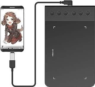 XP-Pen ペンタブ Android6.0以上対応 携帯・スマホで使えるペンタブ OTG接続端子付き 筆圧8192 バッテリーフリー ペン StarG640S