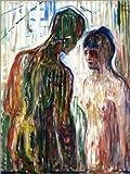Poster 60 x 80 cm: Amor und Psyche von Edvard Munch -