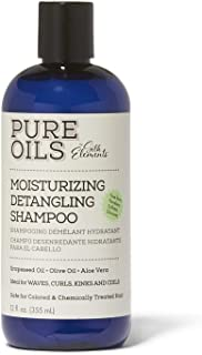 Pure Oils Moisturizing Detangling Shampoo,12fl.OZ(355 ml)