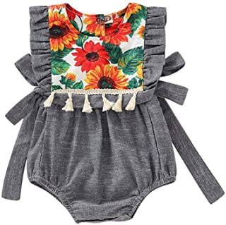 2018 Velvet Clothes Girl Baby Little Big Sister Jumpsuit T-shirt Tops Romper Pure White And Translucent Girls' Clothing (newborn-5t) Clothing, Shoes & Accessories