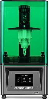 ELEGOO Mars 2 Mono MSLA 3D Printer UV Photocuring LCD Resin 3D Printer with 6.08 inch 2K Monochrome LCD, Printing Size 129...
