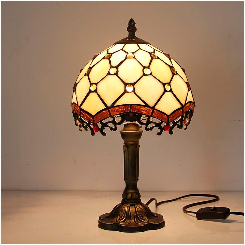 YYF Europische Drachentischlampe - Warme europische Vintage Retro 20cm