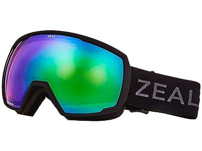Zeal Optics Nomad (Dark Night w/ Jade Mirror) Snow Goggles