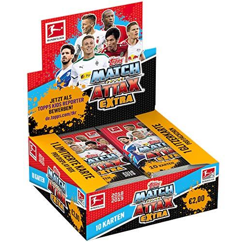 Topps Match Attax EXTRA 2018/19 - 1 Display (20 Booster) - Deutsch