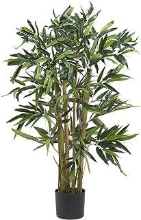 Nearly Natural 5281 Biggie Bamboo Silk Tree, 3-Feet, Green
