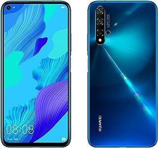 Huawei Nova 5T Smartphone (6GB de RAM 128GB de Memoria Interna 5 Cámaras IA FullView Display Sensor de Huella Lateral 3750 mAh) Dual-SIM Infrared USB Android 6.26 Azul