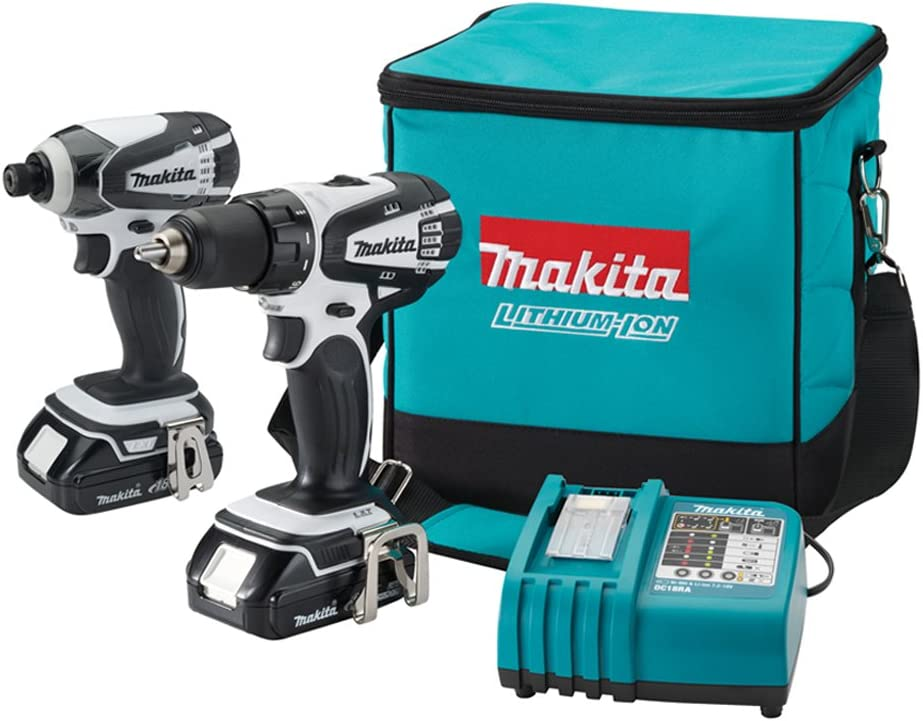 Makita LCT200W 18V Compact Lithium-Ion Combo Cordless Kit 2-Pc. Max 53% OFF We OFFer at cheap prices