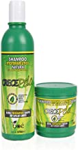 Crece Pelo Set di Shampoo e Trattamento - Prodotti Naturali per la Crescita Dei Capelli, shampoo 370ml, trattamento 240g