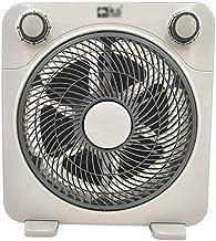 Ventilateur de bureau multi-performances, Lumière usage domestique Ventilateur de sécurité Grille de sécurité for enfants ...