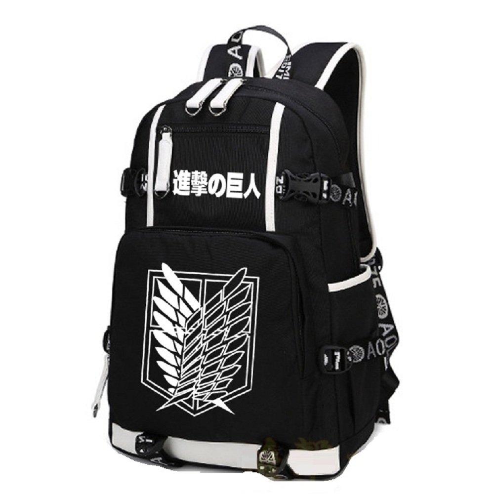 Anime Attack on Titan Cosplay Bag Backpack School Bag Luminous Bag