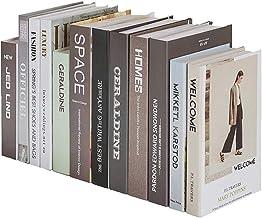 JinMi European Fake Books Photo Props Libros Decorativos Adornos en Caja Simulación Booksmodern Classic Beautiful Home Furnishing