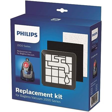 Repuestos de filtro original de Philips compatible con el aspirador sin bolsa serie 2000 XB2XXX Philips Kit repuesto Aspirador sin bolsa serie 2000 XV1220//01