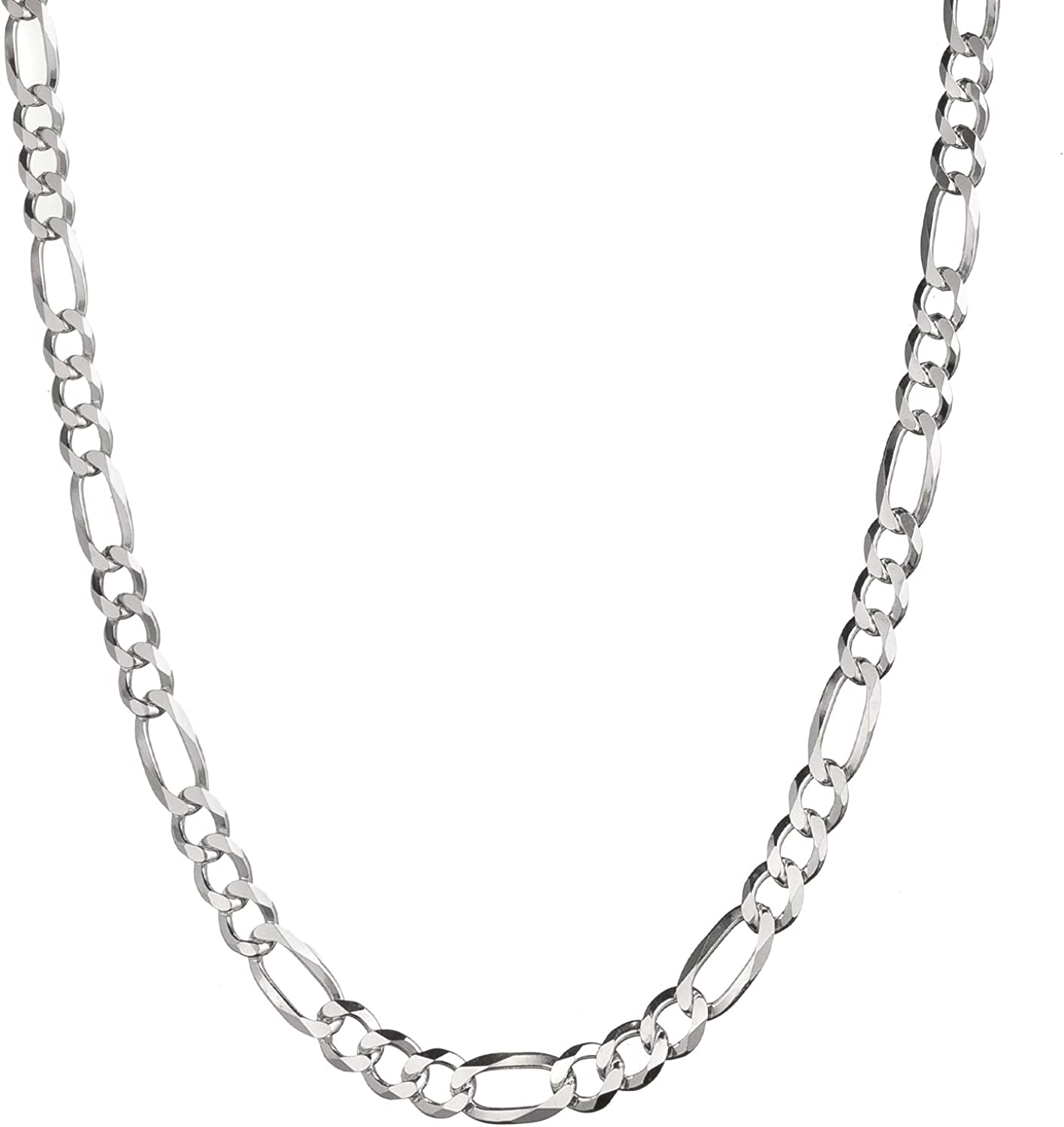 necklace for interchangeable chain pendant Silver chain figaro 925 silver sterling silver filigree chain silver bracelet basic chain