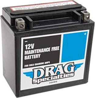 Harley Davidson XL 883-xl 1200-batterie Drag Specialities dtx14l-bs-eu-2113–0467