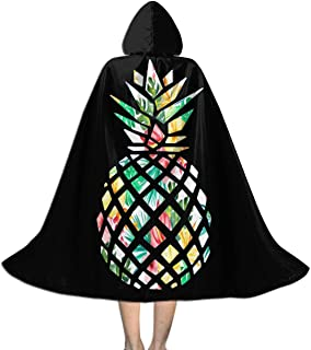Pina Colada Pineapple Hooded Cape for Kids   Children's Cloak with Hood for Halloween, Costumes,Cosplay,Christmas