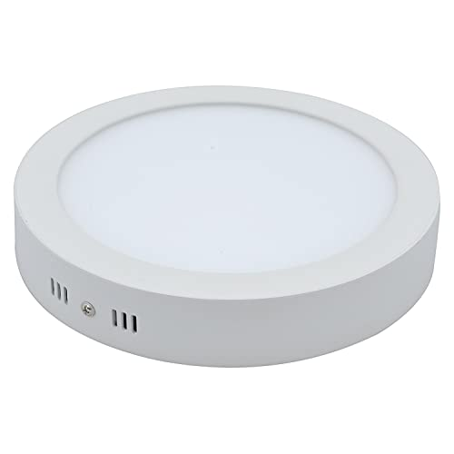D'Mak LED Round Surface Panel Light with High Lumens (White, 15 W)