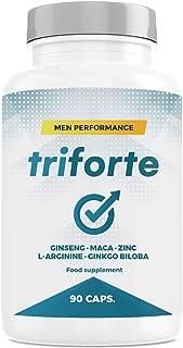 comprar comparacion TRIFORTE Men Performance | Contribuye a Regular los Niveles Normales de Testosterona | 90 Cápsulas