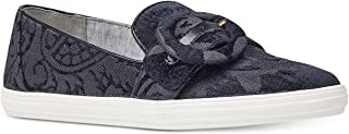 NINE WEST Womens Shireene Fabric Low Top Pull On Fashion Sneakers US