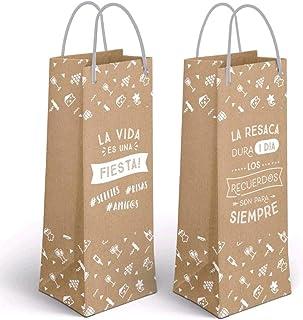 Amazon.es: detalles boda botella de vino