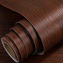 الخشب الحبوب ملصقا ذاتية اللصق للجدران خزانة باب مجلس الوزراء المتكلم للماء بوينغ الأثاث الأثاث ملصقا(Size:60CM*1M,Color:...