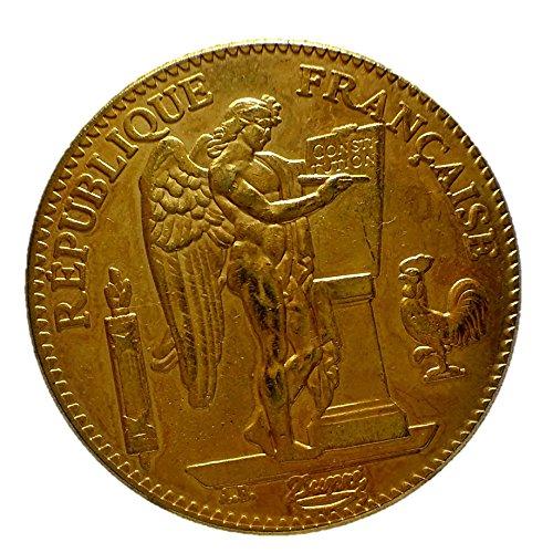 フランス エンジェル 100フラン金貨 1889年レプリカ