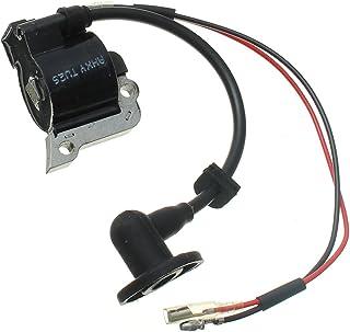RENCALO Bobina de Encendido del carburador Cuerda Partes del Condensador de Ajuste para Motosierra Strimmer Lawnmover