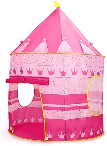 Siyushop K g Womb Castle Kinder Kinder Spielen Zelt Haus Indoor Oder Outdoor Garten Spielzeug Windy House Play House Strand Sonne Zelt Junge mädchen (Farbe   Rosa)