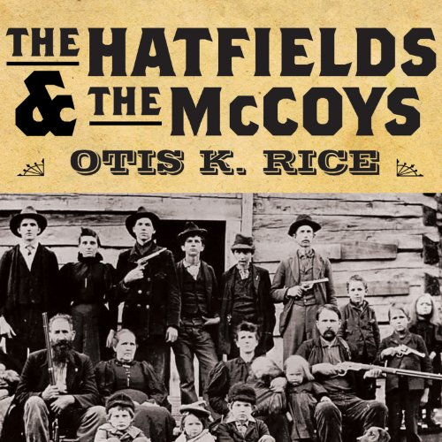 The Hatfields and the McCoys audiobook cover art