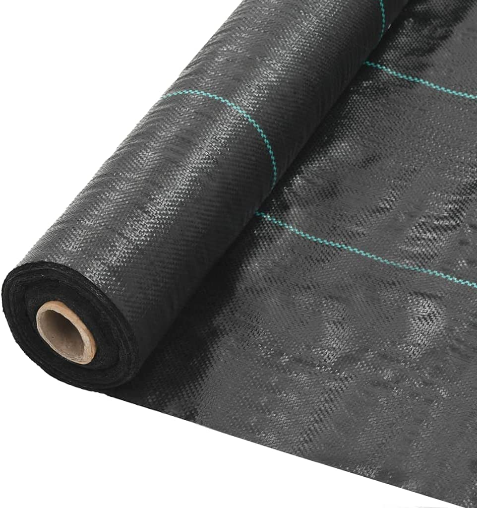 Eurobuy Weed Directly managed store Barrier Fabric Black Rubber U Limited Special Price Driveway Mulch
