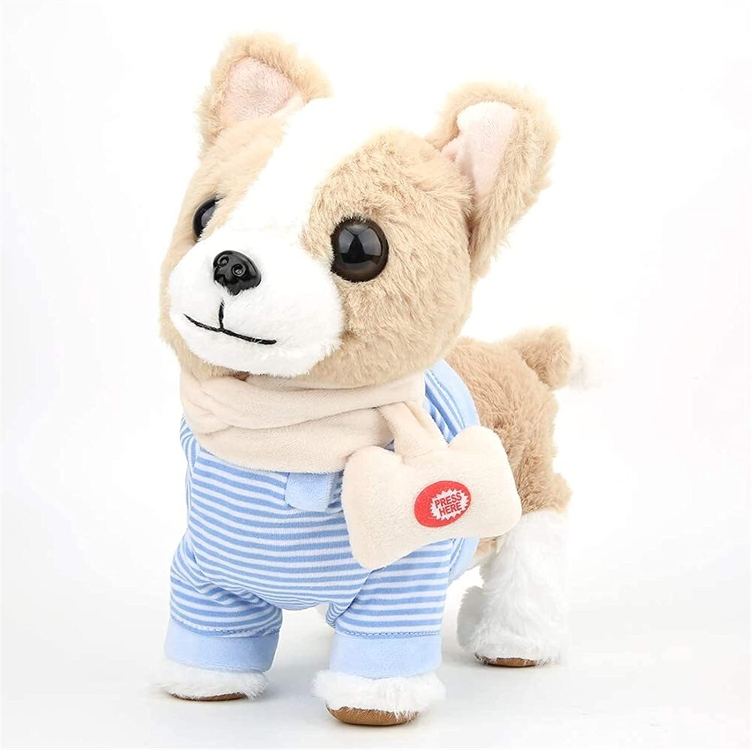 HLD Large-scale sale Animal Toys Electronic Puppy Walk Plush Toy Can Bargain sale Interactive