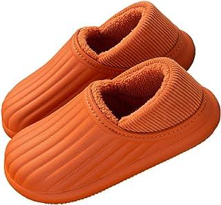 AELEGASN Mens Womens Winte Gardening Soft Clogs Lightweight Cloggies Waterproof Slippers Indoor Outdoor Mules Furry Clogs ...