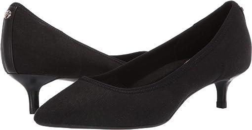 Black Stretch Linen