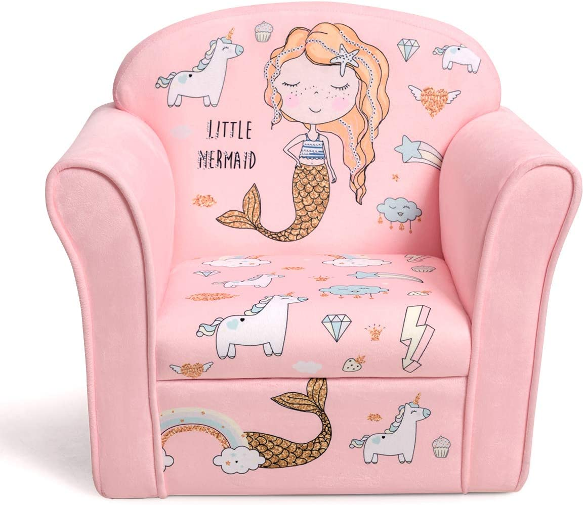 Costzon Kids Sofa Children Armrest Pattern Toddler 70% OFF Outlet with Selling rankings Chair