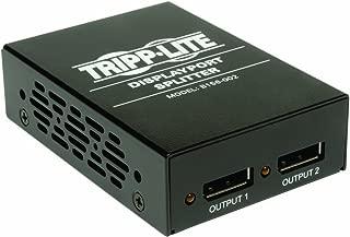 Tripp Lite B156-002 2-Port DisplayPort 1.2 Multi-Stream Transport (MST) Hub, 3840 x 2160 4Kx2K UHD