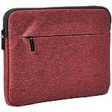 AmazonBasics Tablet Sleeve with Front Pocket, 10', Maroon