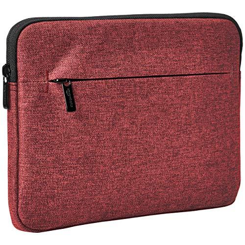 "Amazon Basics Tablet Sleeve with Front Pocket, 10"", Maroon"