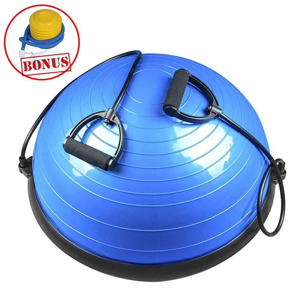 ZEHNHASE Pelota de Yoga, Balance Trainer Media Bola de Equilibrio ...