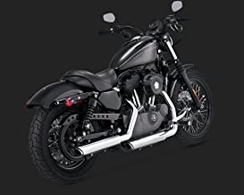 Harley Davidson Night Rod Special con recubrimiento en polvo negro Deflector de Enternamiento Tubos de escape