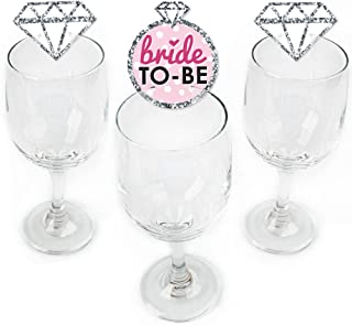 Best bride to be glass charm Reviews