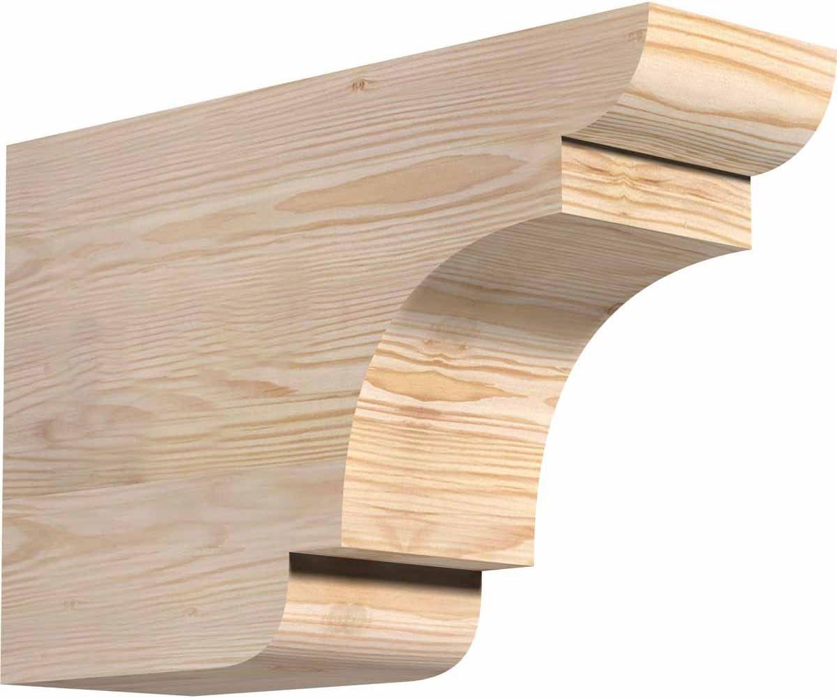 Ekena Recommended Millwork RFT06X12X18NEB00SDF SALENEW very popular New Rafter Ta Brighton Smooth