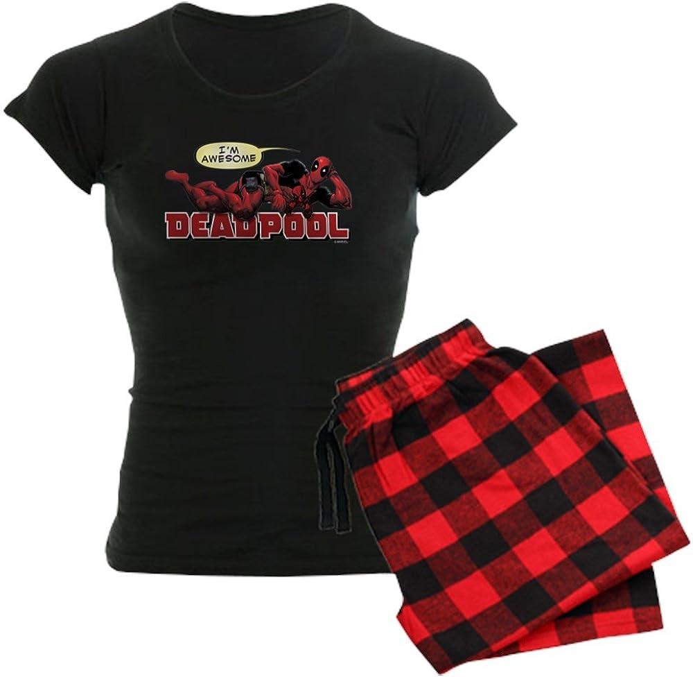CafePress Deadpool mart Awesome Women's Dark Novelty Pajamas C Womens Max 62% OFF