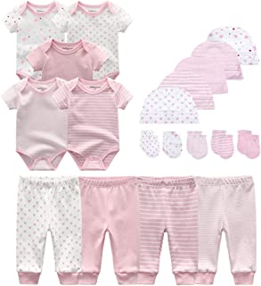 Unisex Baby Layette Essentials Giftset Clothing Set 19-Piece