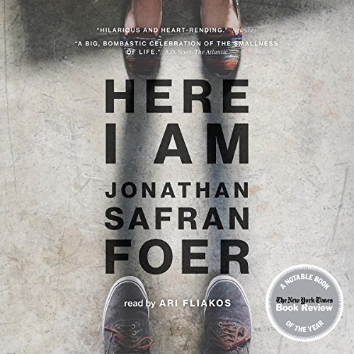 Here I Am audiobook cover art