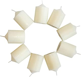 Enlightened Ambience Patchouli Pine Scented Ivory Votive Candles 10 Pack