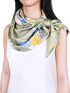 Grace Scarves 100% Silk Scarf, Large, Charmeuse