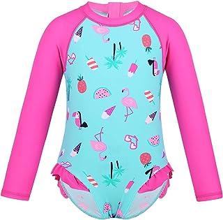 Alvivi Baby-M/ädchen UV Schutz Badeanzug Neoprenanzug Sonnenschutz Surfen Taucheranzug Badebekleidung Kinder Bademode Gr 68-98